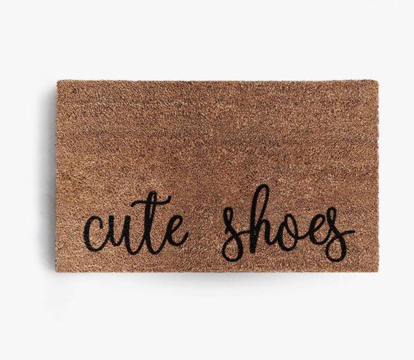 Cute Shoes Doormat