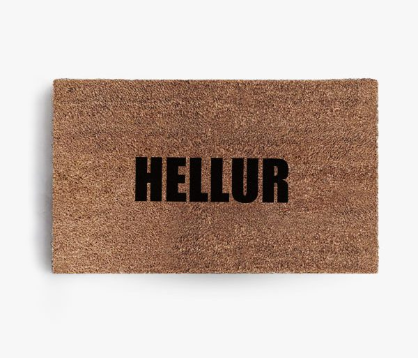 Hellur Doormat