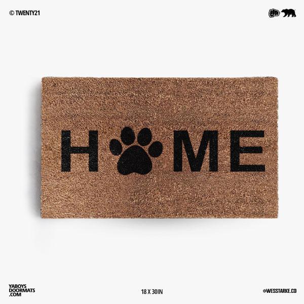 Home Paw Doormat
