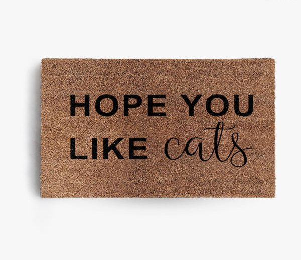 Hope You Like Cats Doormat