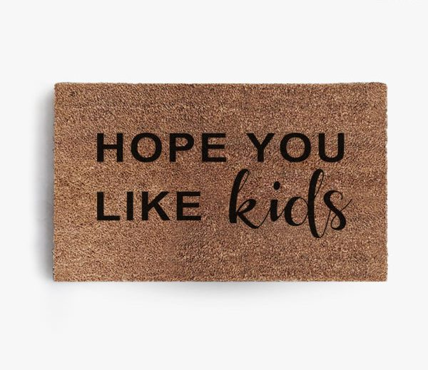 Hope You Like Kids Doormat