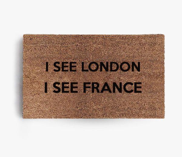 I See London France Doormat