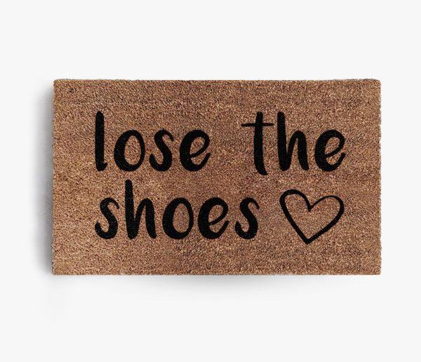 Lose the Shoes Doormat