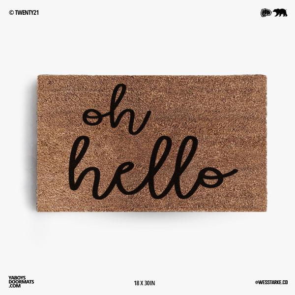 Oh Hello Doormat