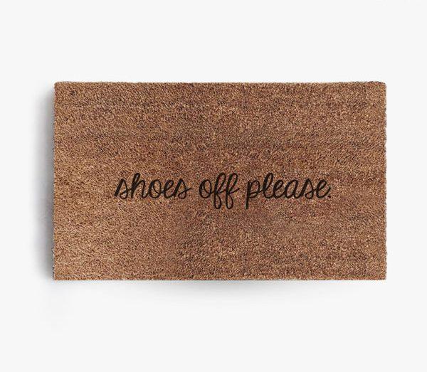 Shoes Off Please Doormat