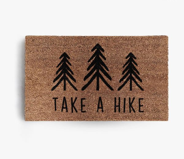 Take A Hike Doormat