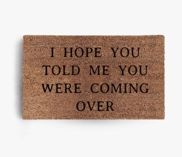 Coming Over Doormat