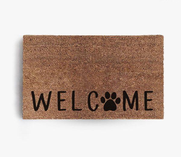 Welcome Paw Doormat