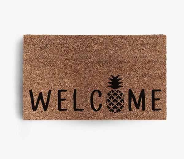 Welcome Pineapple Doormat