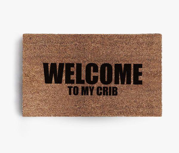 Welcome to my Crib Doormat