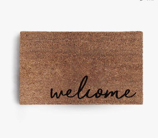 Welcome (Cursive) Doormat